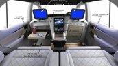 DC Design lounge details for Toyota Fortuner