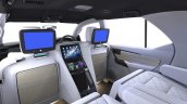 DC Design lounge screens for Toyota Fortuner