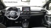Fiat Argo with Mopar accessories dashboard