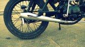 Hero Honda 100 cc custom bike by Ayas Custom Motorcycle exhaust