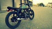 Hero Honda 100 cc custom bike by Ayas Custom Motorcycle rear three quarter right