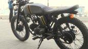 Hero Honda 100 cc custom bike by Ayas Custom Motorcycle rear three quarter