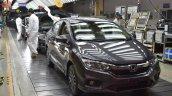 Honda City at Tapukara plant
