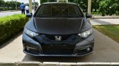 Honda Civic hatchback front spotted at Honda India plant