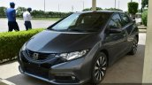 Honda Civic hatchback front three quarter spotted at Honda India plant