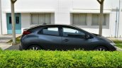 Honda Civic hatchback side right spotted at Honda India plant