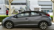Honda Civic hatchback side spotted at Honda India plant