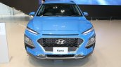 Hyundai Kona front elevated view