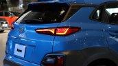 Hyundai Kona rear quarter angle