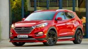 Hyundai Tucson Sport front three quarters