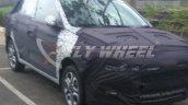 Hyundai i20 2018 front view spyshot test mule