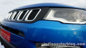 Jeep Compass grille and headlamp secton review