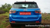 Jeep Compass rear review