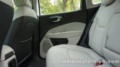 Jeep Compass rear seat contour review