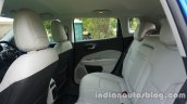 Jeep Compass rear seat space review