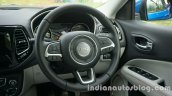 Jeep Compass steering wheel review