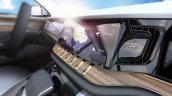 Jeep Yuntu concept dashboard side view