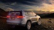 Jeep Yuntu concept rear three quarters