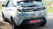 Lower variant of Tata Nexon rear spied