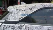 Lower variant of Tata Nexon spied antenna