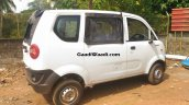 Mahindra Jeeto van side spied undisguised first time