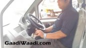 Mahindra Jeeto van spied interior undisguised first time
