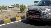 Panther Black 2017 Ford EcoSport front fascia spy shot