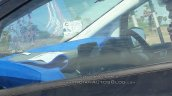 Panther Black 2017 Ford EcoSport interior spy shot