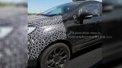Panther Black 2017 Ford EcoSport left side spy shot