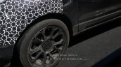 Panther Black 2017 Ford EcoSport wheel spy shot