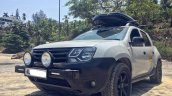 Renault Duster pickup front in India
