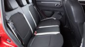 Renault Kwid Brazilian spec rear seat with three headrests