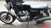 Royal Enfield Continental GT 750 latest spy shot side