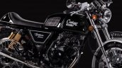 Royal Enfield Continental GT lookalike Stallions Centaur Slam black side