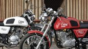Royal Enfield Continental GT lookalike Stallions Centaur Slam front suspension