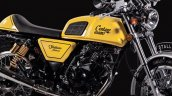 Royal Enfield Continental GT lookalike Stallions Centaur Slam yellow side