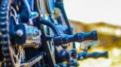 Royal Enfield Thunderbird 350 Rudra by Maratha Motorcycles foot pegs
