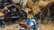 Royal Enfield Thunderbird 350 Rudra by Maratha Motorcycles rear three quarter right