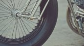 Royal Enfield V-twin musket front wheel