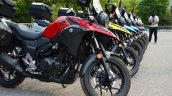 Suzuki V-Strom 250 production front three quarter
