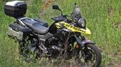 Suzuki V-Strom 250 production front three quarter still
