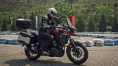 Suzuki V-Strom 250 production side motion