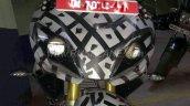 TVS Apache RR 310S spied up close headlamp