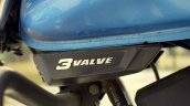TVS Victor review still 3 valve badging