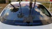 Tesla Model 3 back glass spy shot
