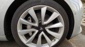 Tesla Model 3 wheel spy shot