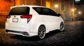 Toyota Innova Crysta Custom rear three quarter by ATIVUS
