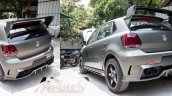 VW Polo F-86 SABRE by Modsters Automotive rear