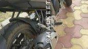 Yamaha Fazer 250 (Yamaha Fazer 25) spy shot grey exhaust