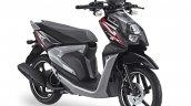 Yamaha X-Ride 125 black front three quarter